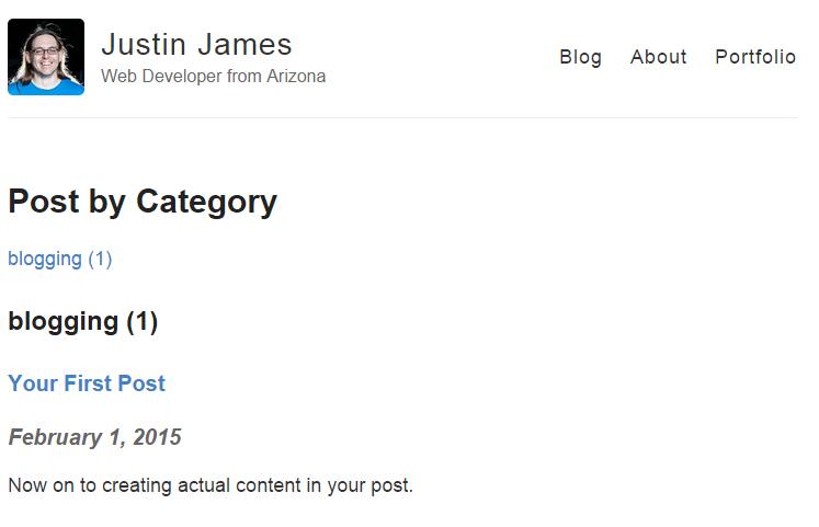 category view screenshot