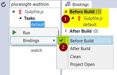 Before Build Binding