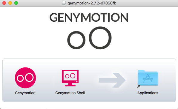 Genymotion copy to Applications folder