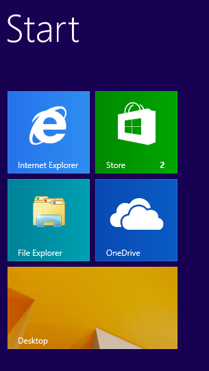 Windows start menu after removing default programs